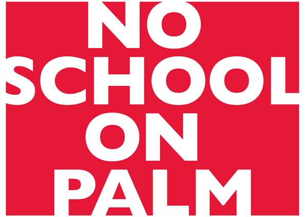 No School on Palm